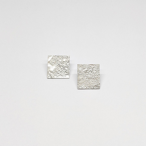 Granulated Square Studs 2