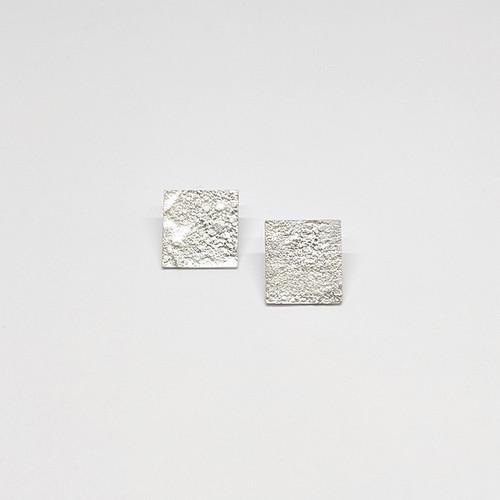Granulated Square Studs 2