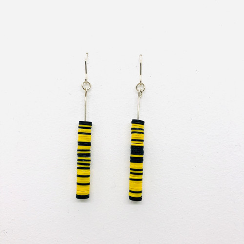 Toto Yellow Tower Earrings