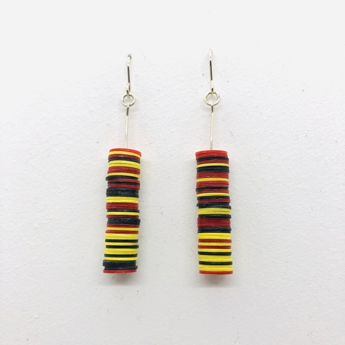 Toto Desert Colour  Drop Earrings