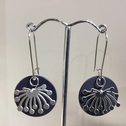 Pincushion Drop Earrings