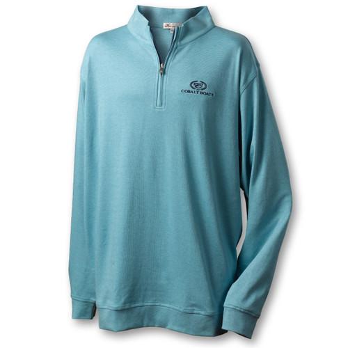 A341 Heather Quarter Zip Sweater
