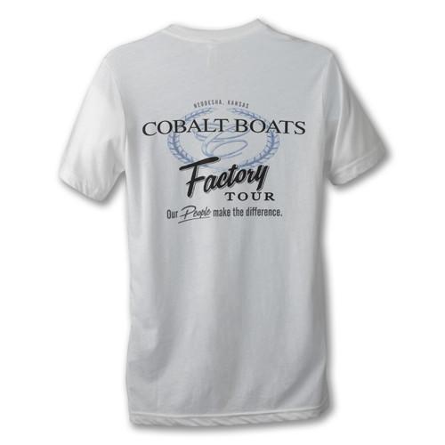 Cobalt Factory Tour Tee