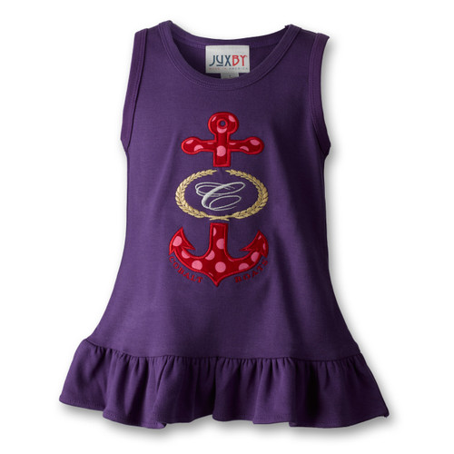 T104 Girl's Cobalt Sundress