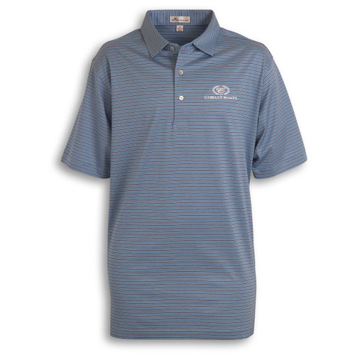 A371 Striped Peter Millar Polo