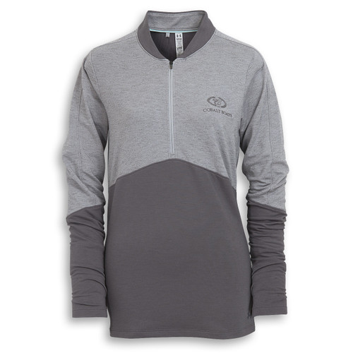Ladies' Under Armour Mock Half Zip