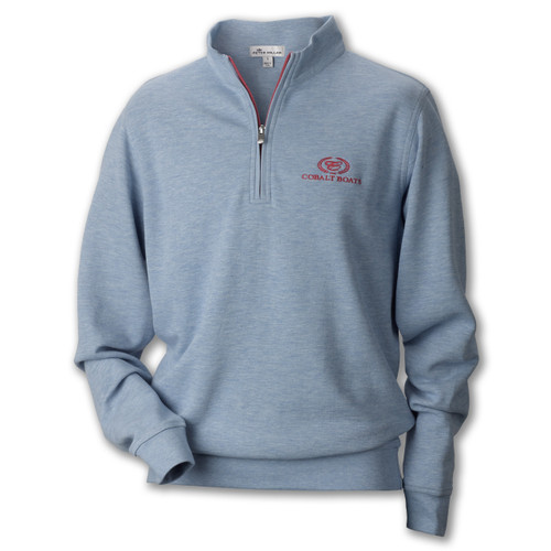 A40031 Peter Millar Interlock Quarter Zip