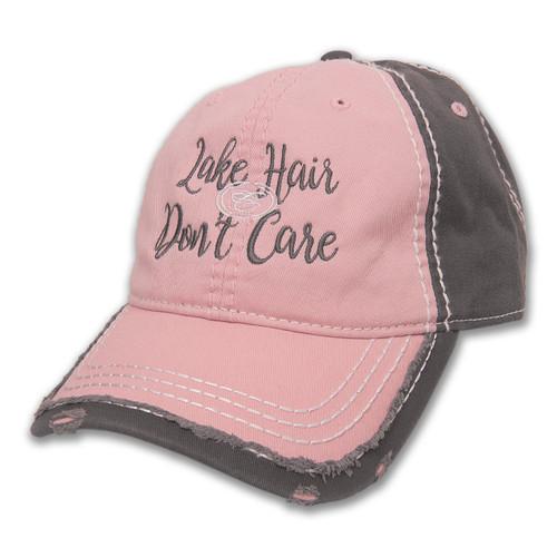 A453 Ladies' 2-Tone Distressed Cap