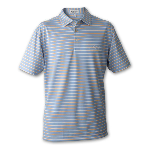 A468 PM Coley Stripe Stretch Polo
