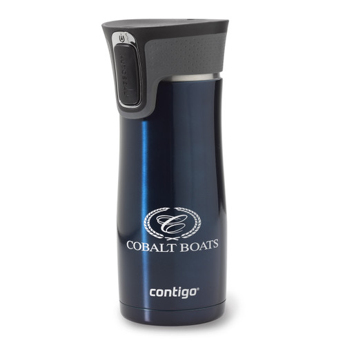 Navy Contigo Stainless Steel Travel Mug