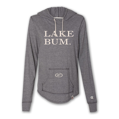 A495 Ladies' Tri-Blend Hooded Pullover Tee