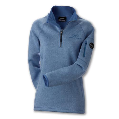 A460 Ladies' Knit Fleece 1/2 Zip