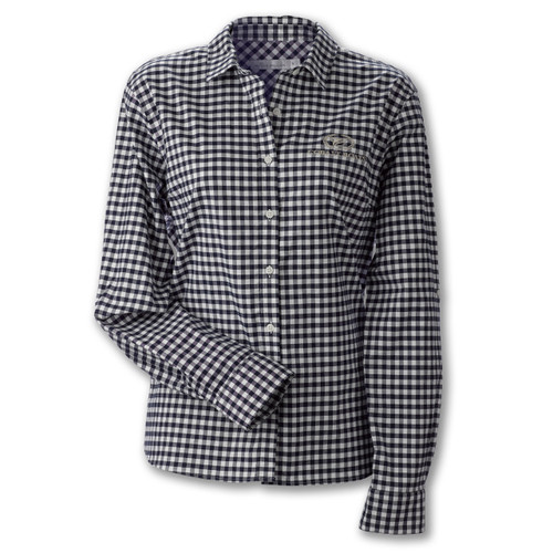 A445 Ladies' Small Gingham Checked Shirt