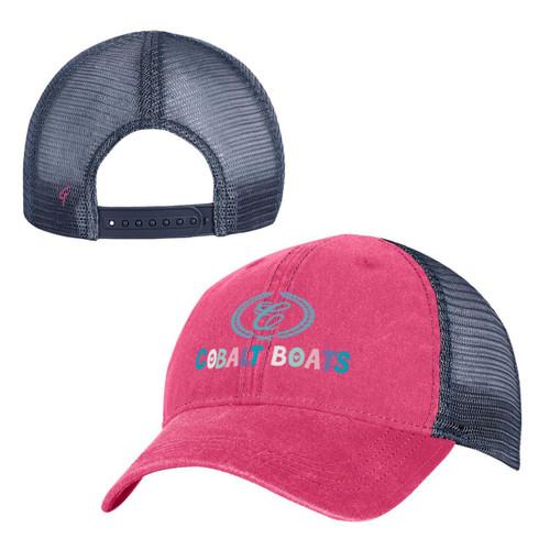 Yth Pigment Dyed Trucker Hat