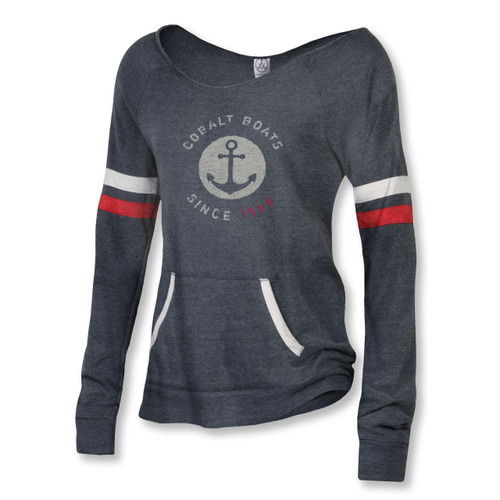 Women's Crewneck Sport Navy