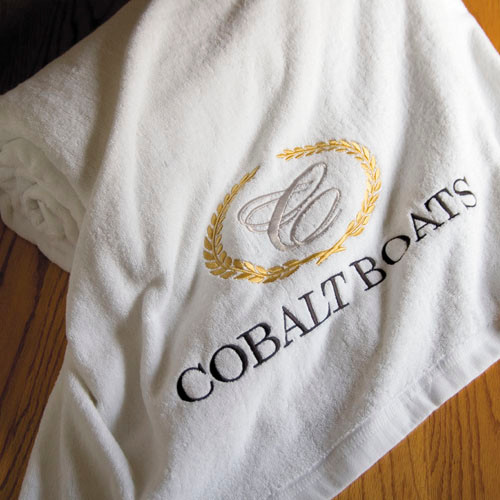 Cobalt Beach Towel