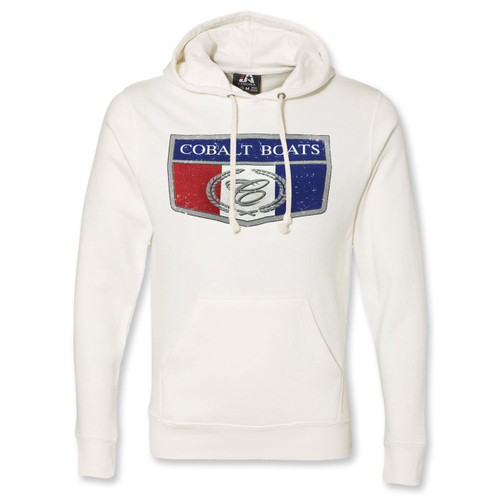 JAmerica Fleece Hoody Antique White