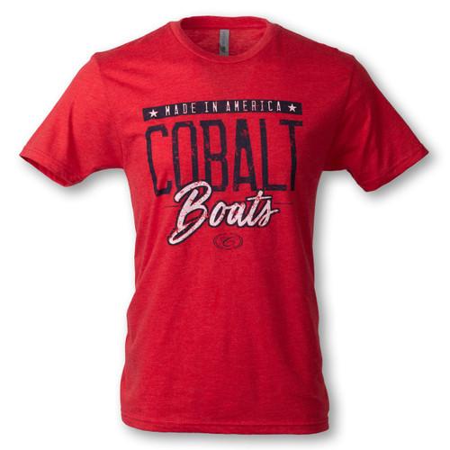 Cobalt Red Tee