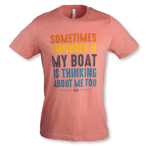 Boat Thinks of Me Tee