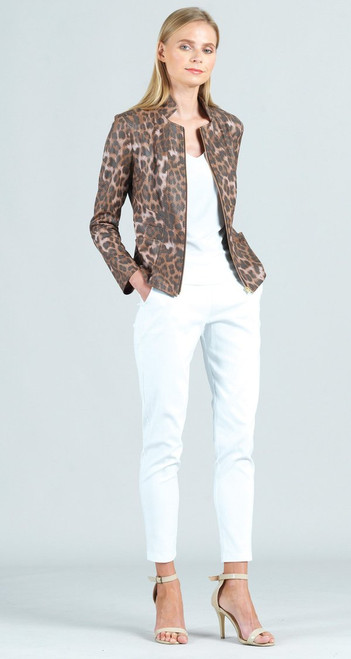 Clara SW Cheetah Liq. Leather