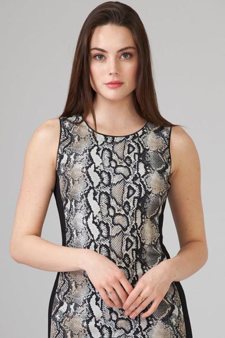 Reptile pattern dress