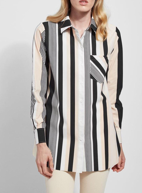 Lysse Awning Stripe Tunic