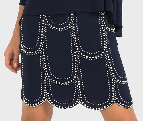 JR Navy Dress/Pearls