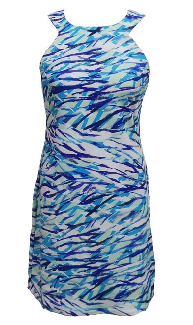 Aryeh Megan Dress Turquoise