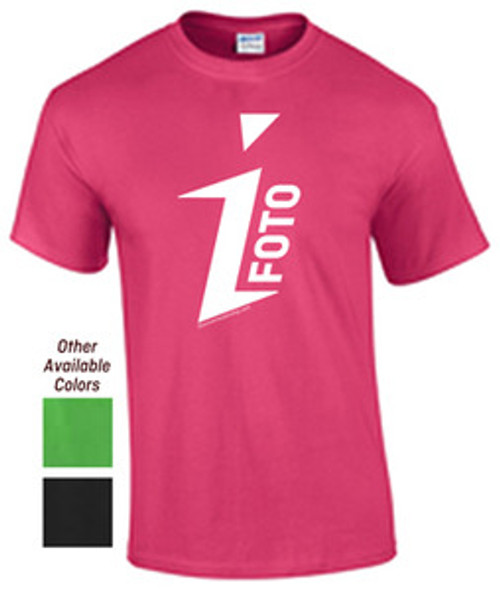 DISCONTINUED - iFOTO T-shirt (see description for sizes)