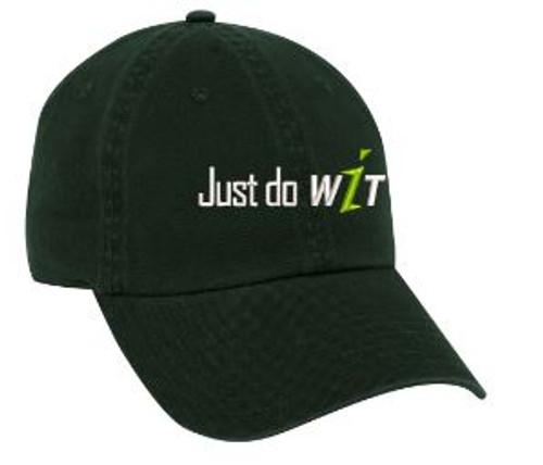 Just do WIT Black Baseball Hat