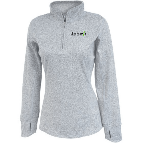 Just Do WIT - Women's SpaceDye Pullover
