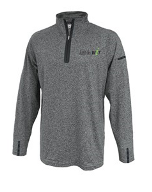 Just Do WIT - Men's  1/4 Zip Pullover