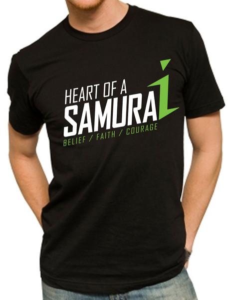 Heart of a Samurai T-shirt