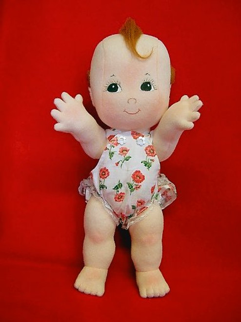 Cupie - Cloth Baby Doll Sewing Pattern by Judi Ward