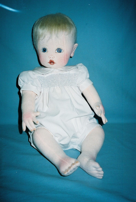 Baby Prince William - Cloth Baby Doll Sewing Pattern by Judi Ward