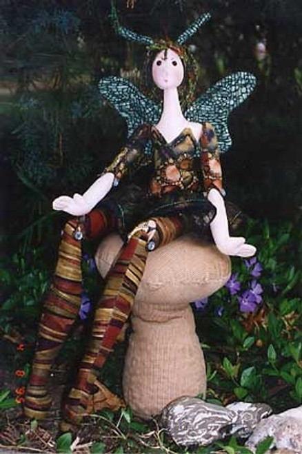 Wood Nymph - Cloth Doll Sewing Pattern by Julie McCullough