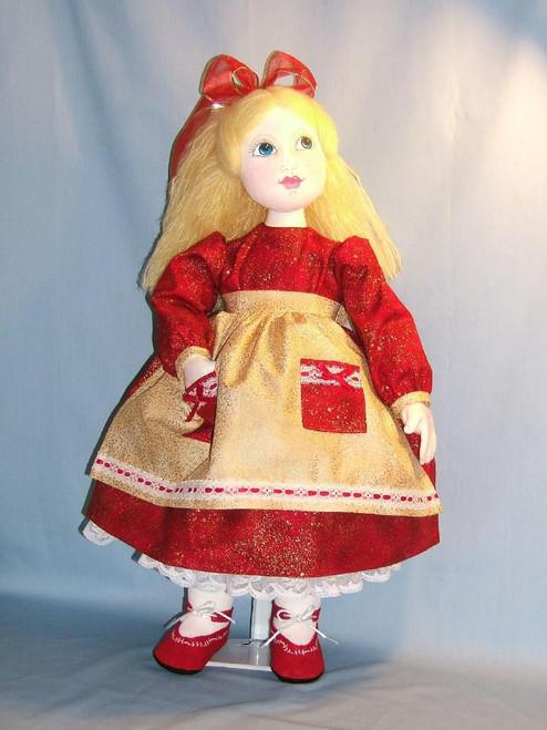 Little Girl Lori - Cloth Doll Sewing Patterns by Judi Ward