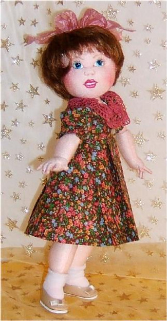 Little Bleuette in Cloth ~ Online Cloth Doll Class by Judi Ward