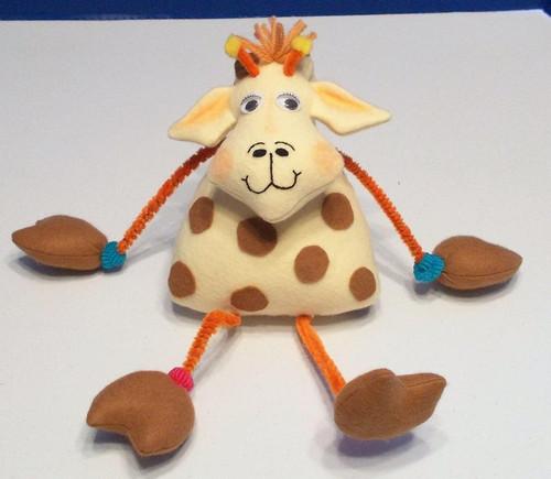 Gerald Giraffe  - A Bent Neck Giraffe Soft Doll Animal e-Pattern - PDF Download Sewing Pattern