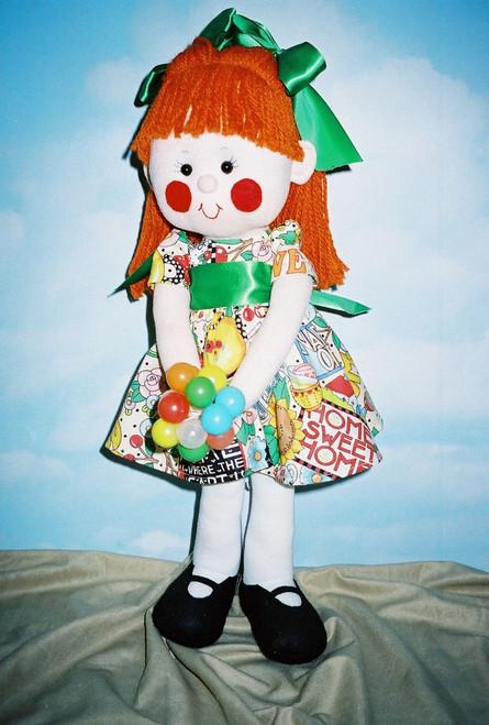 Fiona - Cloth Doll Sewing Patterns by Judi Ward