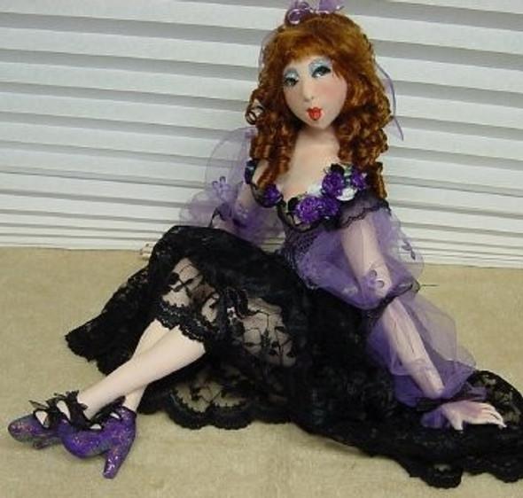 Milli'  ~ Online Cloth Doll Class by Judi Ward
