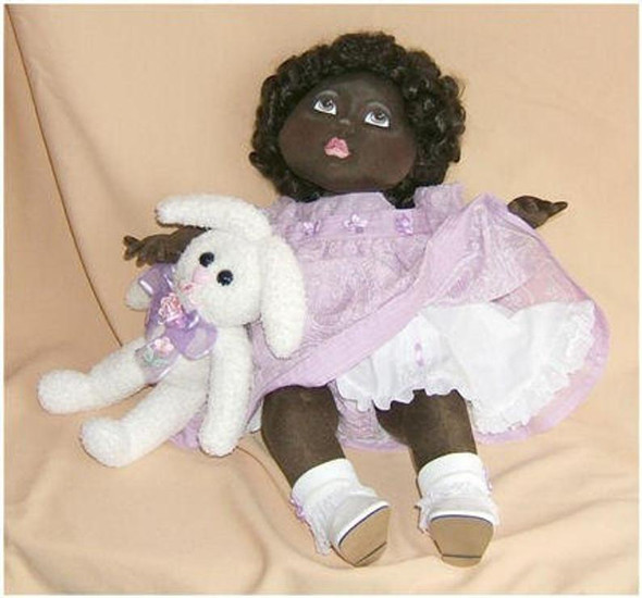 Bobbi or Bobby A Simple Baby Doll ~ Cloth Doll Making  e-Pattern - PDF Download Sewing Pattern