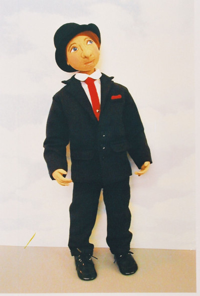 Andrew Alan Arbuckle - Cloth Doll Sewing Pattern by Judi Ward