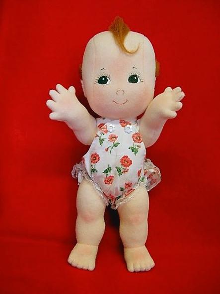 Cupie - Cloth Baby Doll Sewing Pattern by Judi Ward
