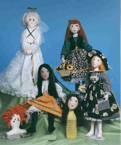Cloth Dollmaking for Everyone! ~ Online Class by Judi Ward