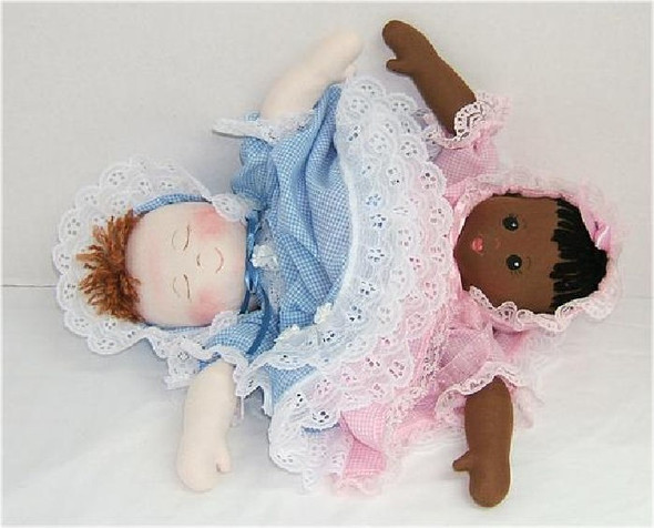Topsy-Turvy - Cloth Baby Doll Sewing Pattern by Judi Ward