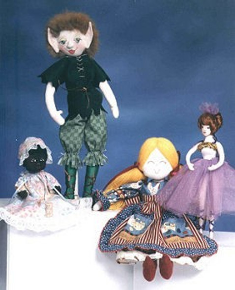Design Your Own Doll - Online Class by Judi Ward
