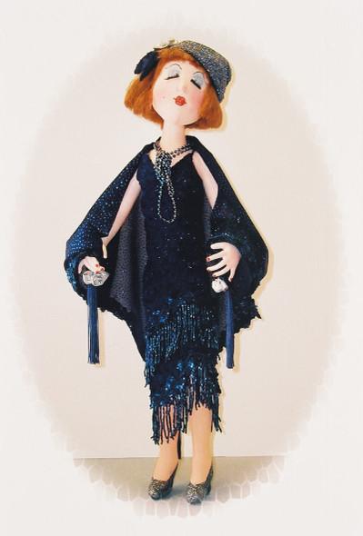 Abigail Anne Asbury  - Cloth Doll Sewing Pattern by Judi Ward