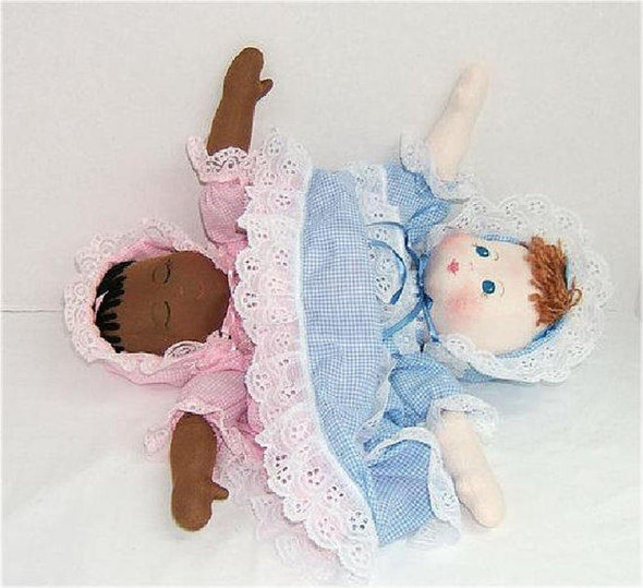 TOPSY TURVY  - Cloth Baby Doll e-Pattern - PDF Download Sewing Pattern
