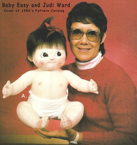 Baby Easy - Vintage Doll Pattern by Judi Ward